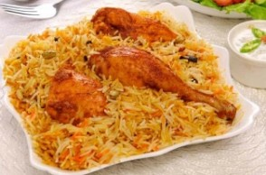 Proud news for Chicken Biryani lovers