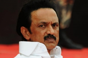 MK Stalin submits petition to Governor