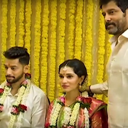 Actor chiyaan vikram wedding