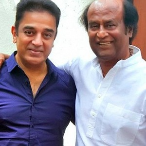 Just In: Kamal Haasan congratulates Rajinikanth