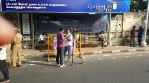 Catch The on field Action From RK Nagar