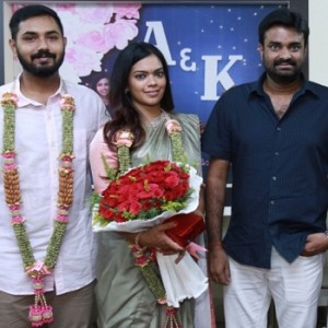 Keerthana and Akshay Special Reception for Media