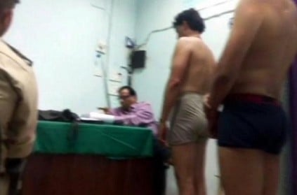 Medical tests for men, women cops done in the same room