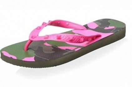 Pair of flip-flops sold on Amazon for Rs 45,000