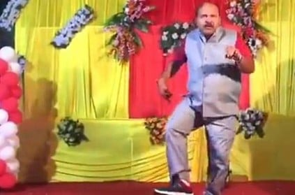 Viral dancing uncle is back, this time apes another big star