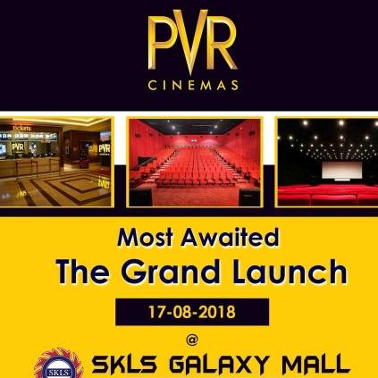 PVR Cinemas opens its 4th Chennai branch in RedHills