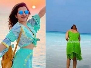 After DD, another Vijay TV fame celebrity in the Maldives; Guess who?