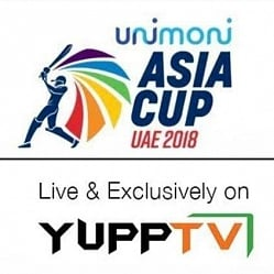 YuppTV bags exclusive digital rights for ASIA CUP