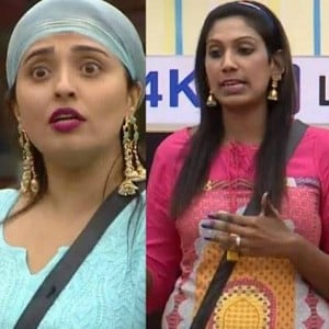 Bigg Boss 2 - Tussle between Mumtaz and Nithya Balaji - What happened