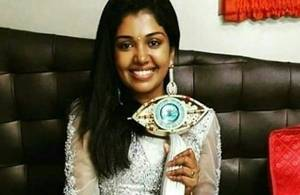 Wishes pour in for Riythvika - Bigg Boss Title Winner
